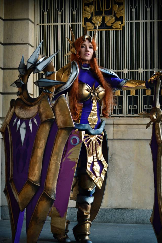 Leona from League of Legends. Wow.