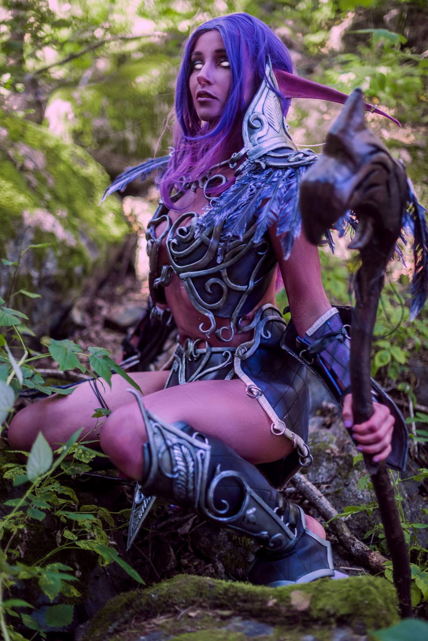 Night elf costume wow