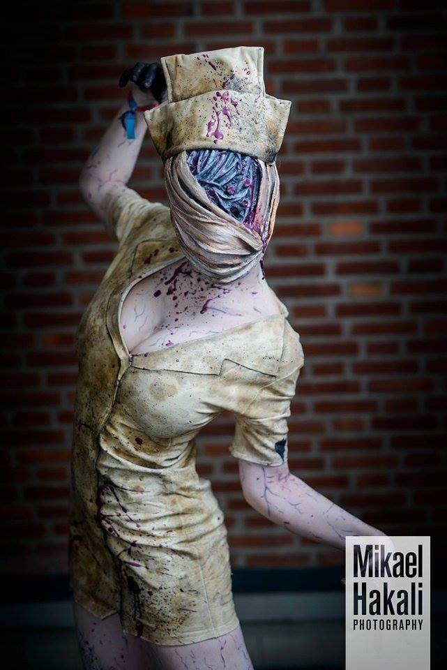 (Scary as hell) Nurse from Silent Hill!